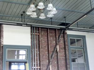 写真:奈良女子大学:内部改修工事中の旧本館