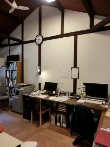 写真:友人の事務所