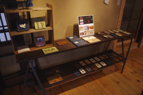 写真:ミセノマ企画第6回「住まいと陶」の会場の様子(2014年11月)