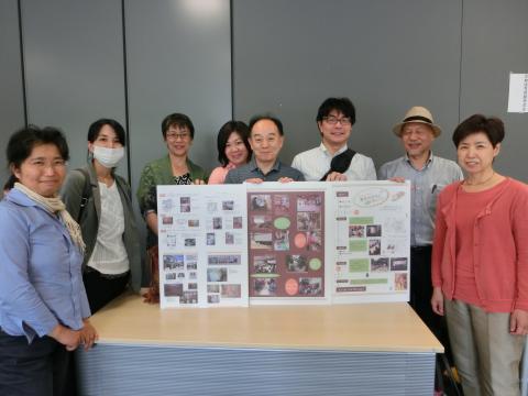 写真:京都保育のつどいに参加したメンバーで集合写真です