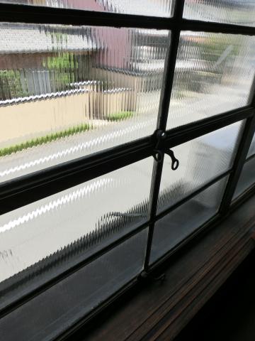 写真:表通りに面した窓ガラス