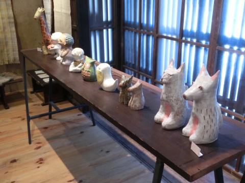 写真:松岡由紀さんの陶芸作品