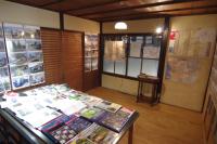 写真:2階打合せスペースの展示