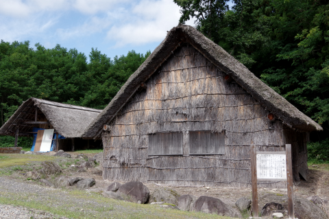 写真:木地小屋