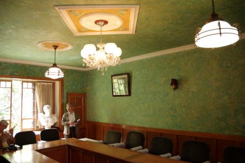 写真:アメリカ軍関係者が食事をした部屋