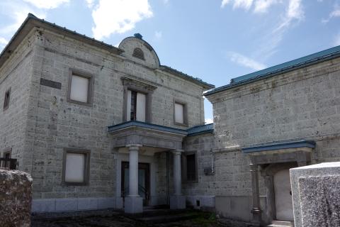 写真:大谷石造の元医院