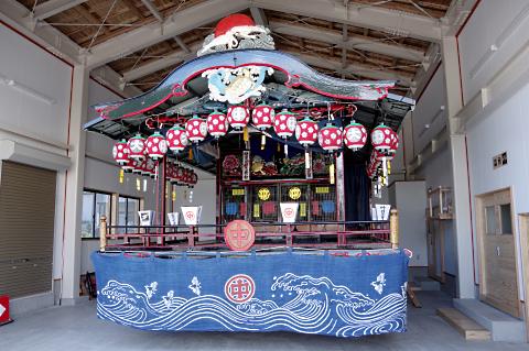 写真:会津祇園祭の中屋台
