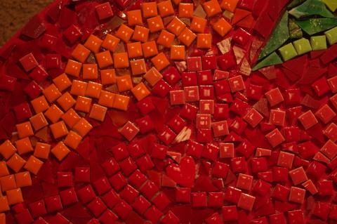 写真:トマトのアップ