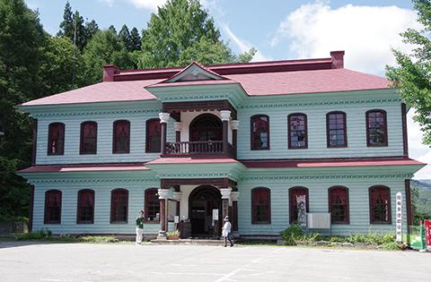 写真:旧会津郡役所
