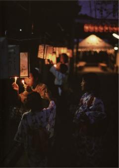 写真:ミセノマ企画第1回 写真展「子育てのまち京都の夏・地蔵盆」より