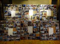 写真:上京区を6分割した圧巻の写真パネル