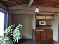 写真:事務所の床の間全景