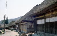 写真:1974年の大内宿
